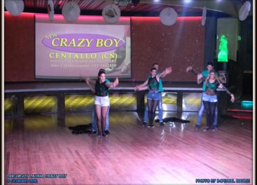 8 Gennaio 2016 – ONE NIGHT LATINA – Crazy Boy